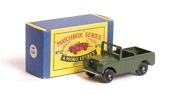 1020: Matchbox No.12b Land Rover