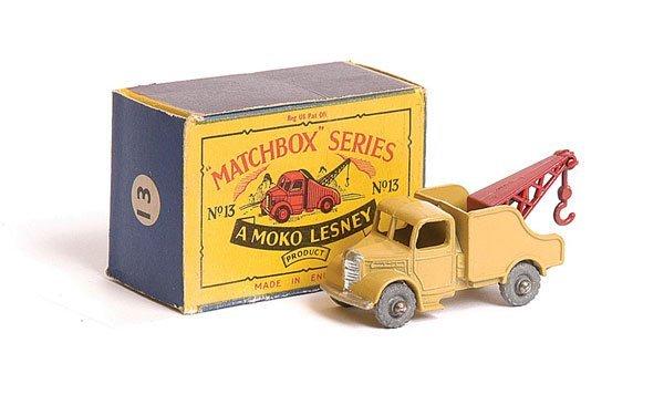 1022: Matchbox No.13b Bedford Wreck Truck