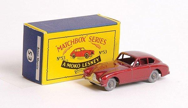 1100: Matchbox No.53a Aston Martin DB2