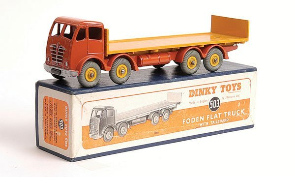 2377: Dinky - No.503 Foden Flat Truck with Tailboard