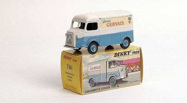 "3411: French Dinky No.561 Citroen H Van ""Gervais"""