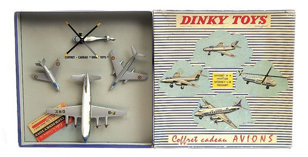 3470: French Dinky - No.60 Aircraft Gift Set