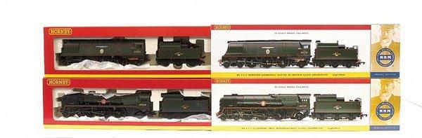 4008: Hornby - 2 x NRM 4-6-2 BR Green Locos