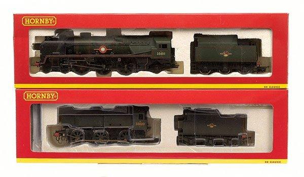 4014: Hornby - 2 x BR Southern Region Steam Locos