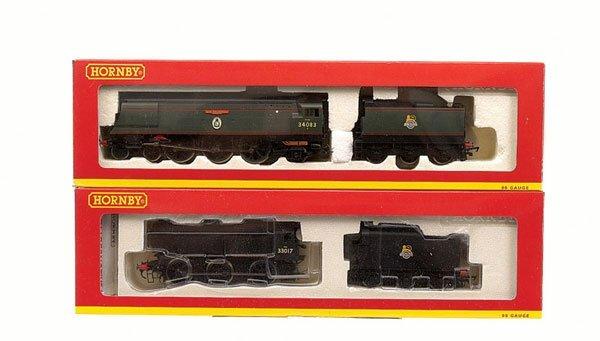 4015: Hornby - 2 x BR Southern Region Steam Locos
