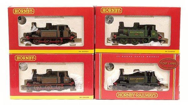4019: Hornby - 4 x 0-6-0 Class A1X Terrier Tank Locos