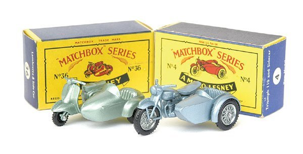 17: No.4 Triumph Motorcycle and Sidecar