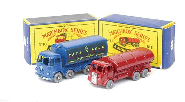 18: No.10 Foden Sugar Container & No.11 ERF Tanker
