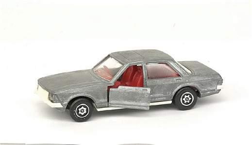 2001: Pre-production sample model of Ford Granada