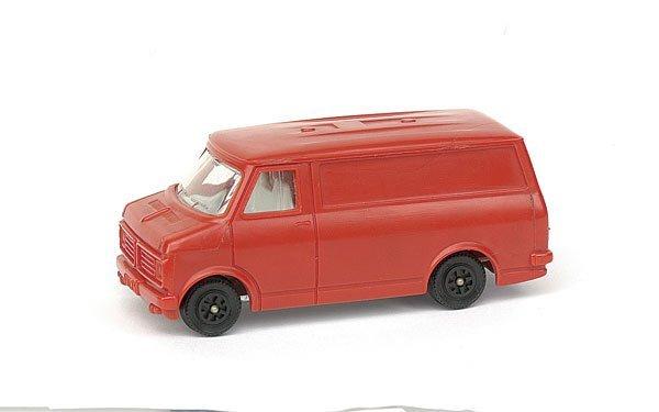 2009: Pre-production Bedford Van