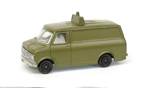 2011: Pre-production colour trial Bedford Van