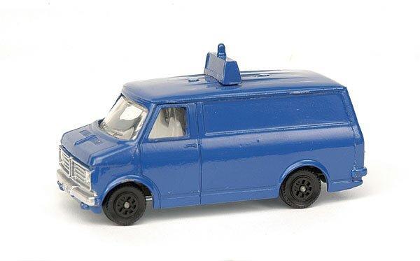 2012: Pre-production colour trial Bedford Van