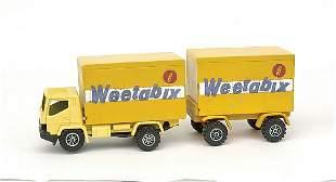 "Pre-pro resin Convoy Truck/Trailer ""Weetabix"""