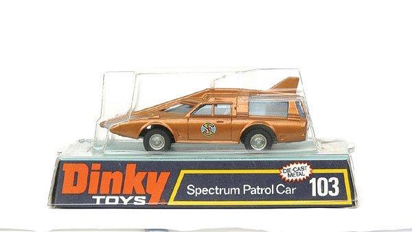 """2025: No.103 """"Captain Scarlet"""" - Spectrum Patrol Car"""