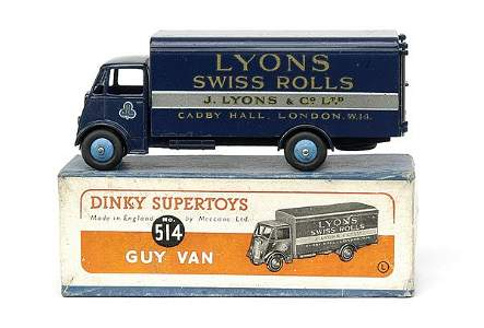"""2137: No.514 Guy Van """"Lyons Swiss Rolls"""""""