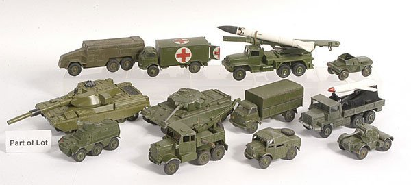 6: Dinky, Corgi and Other Military Diecast Vehicles