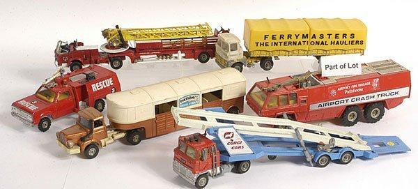 8: Corgi Major Toys - A Group of Commercials
