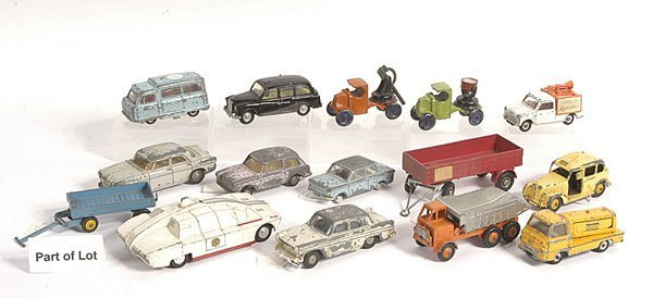 10: Spot-On, Dinky and Other Diecast Vehicles