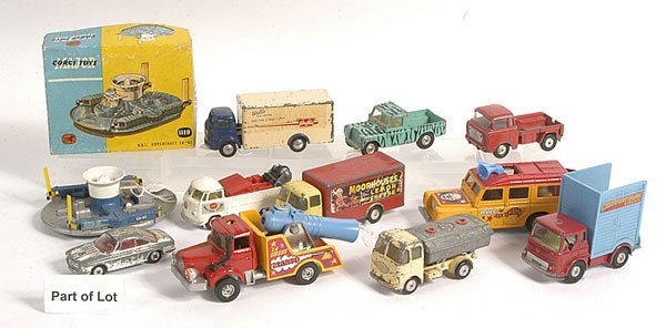 12: Corgi Circus Vehicles and Other Commercials