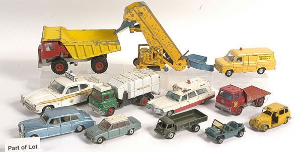 17: Dinky Commercial Vehicles and Cars