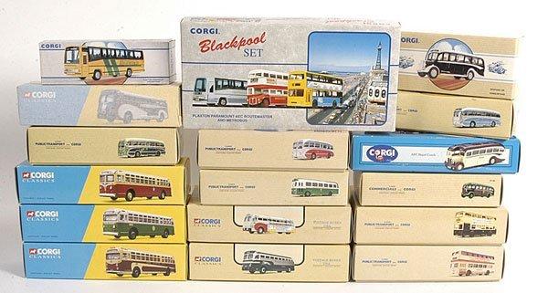 21: Corgi Classics 1/50th scale Buses