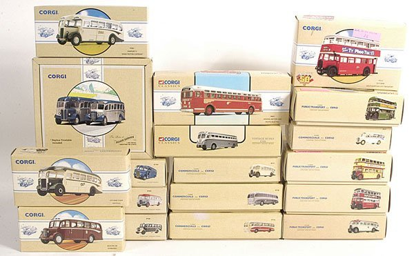 24: Corgi Classics 1/50th scale Diecast Buses