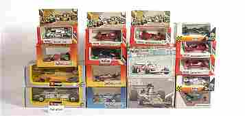 73 Polistil  A Group of Assorted Racing Cars