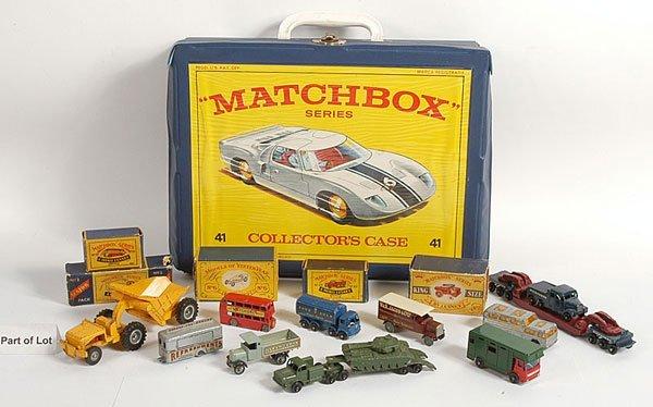 291: A Group of Matchbox 1-75 Series Models