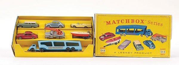 437: Matchbox G2 Car Transporter Gift Set