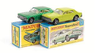 550: Matchbox Superfast - 2 x No.53 Ford Zodiac
