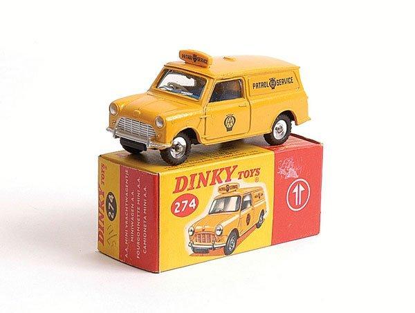 1001: Dinky - No.274 AA Mini Van Patrol Service