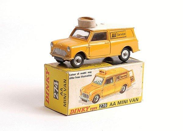 """1002: Dinky - No.274 AA Mini Van """"Service"""""""