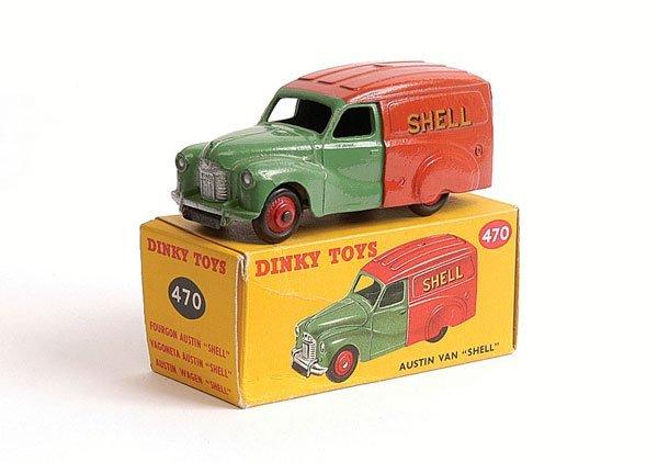 "1003: Dinky - No.470 Austin Van ""Shell"""