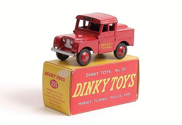 1004: Dinky - No.255 Mersey Tunnel Police Van