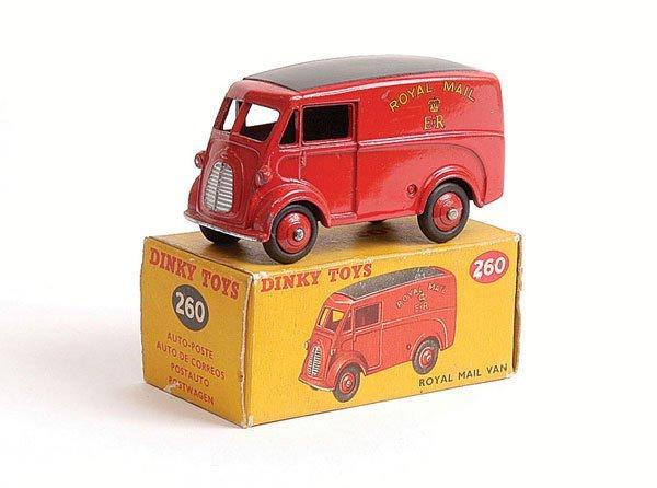 1005: Dinky - No.260 Royal Mail Van
