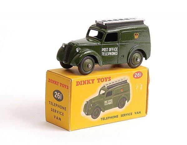 1006: Dinky - No.261 Telephone Service Van