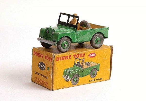 1009: Dinky - No.340 Land Rover