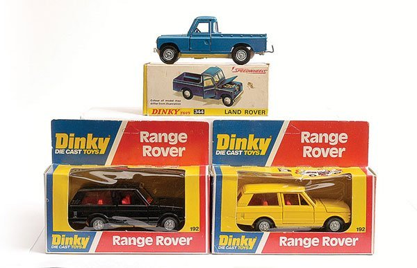 1012: Dinky No.344 Land Rover & Others