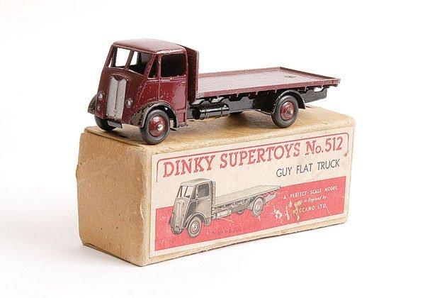 1013: Dinky No.512 Guy Flat Truck