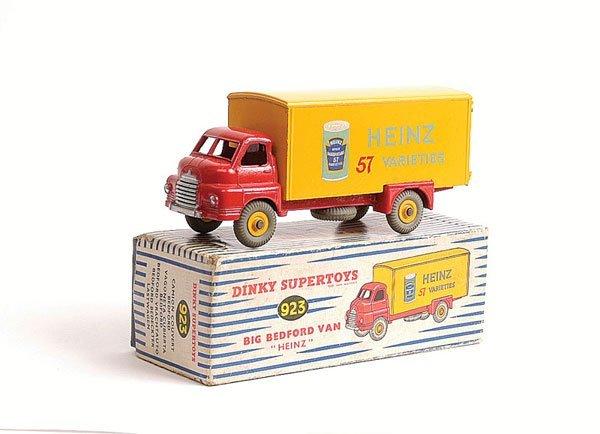 """1017: Dinky No.923 Big Bedford Van """"Heinz"""""""