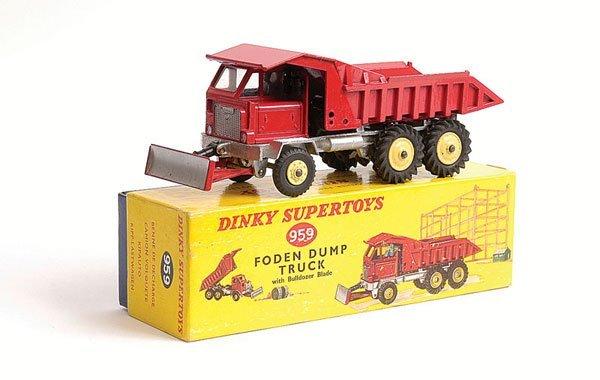 1019: Dinky - No.959 Foden Dump Truck