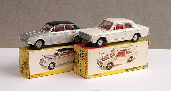 1142: Dinky - A Pair of 1960s Ford Cars