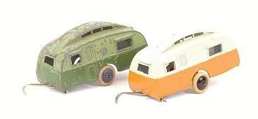1445: Dinky - No.30G Caravan Trailer