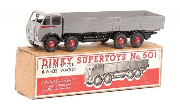 1635: Dinky - No.501 1st Cab Foden 8-wheeled Wagon