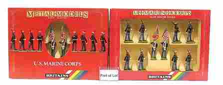 4104 Britains Metal Models Series 10 figure sets