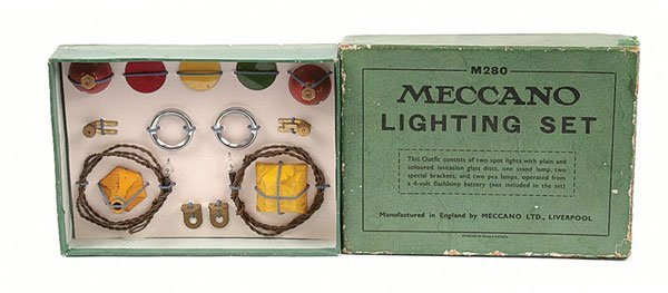 5006: Meccano 1936 Lighting Set