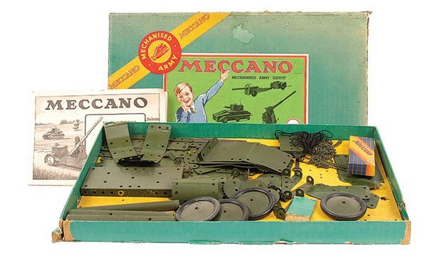 5014: Meccano Pre-war Mechanised Army Set
