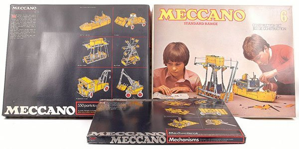 5019: Meccano Early 1970s No.6 Set & Others