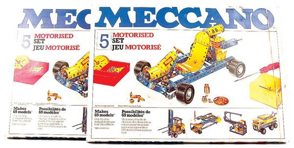 5021: Meccano Late 1970s No.5 Motorised Set