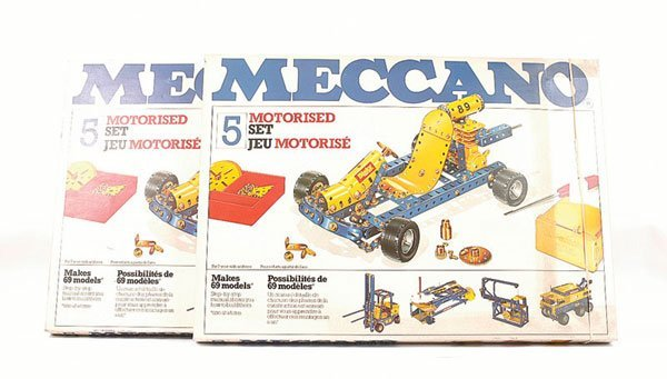 5022: Meccano Late 1970s No.5 Motorised Set